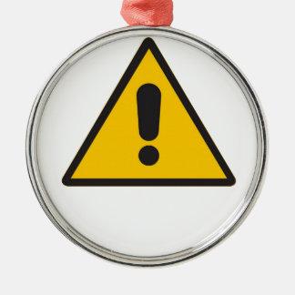 危険の記号-概要Danger.png メタルオーナメント