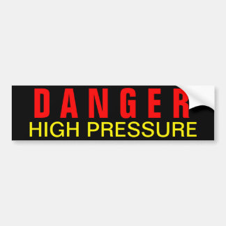 危険の高圧安全デカール バンパーステッカー