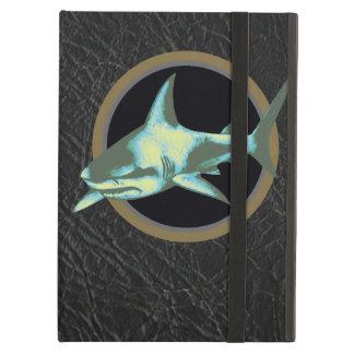危険の鮫、注意 iPad AIRケース