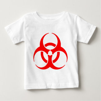 危険標識 ベビーTシャツ