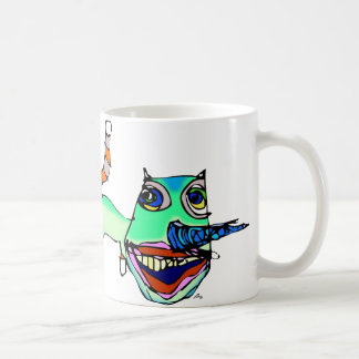 危険猫 コーヒーマグカップ
