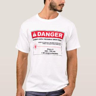 危険: きざな光線 Tシャツ