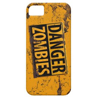 危険: ゾンビの警告標識[iPhone] iPhone SE/5/5s ケース