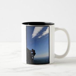 危険 ツートーンマグカップ