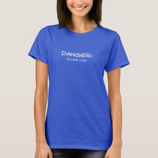 危険! ブロンドの地帯 Tシャツ