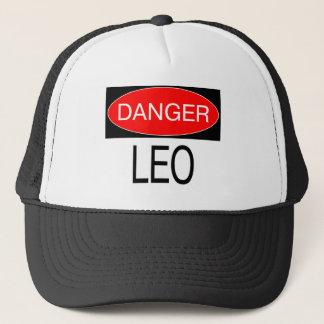 危険-レオのおもしろいな占星術のTシャツの帽子のマグのエプロン キャップ