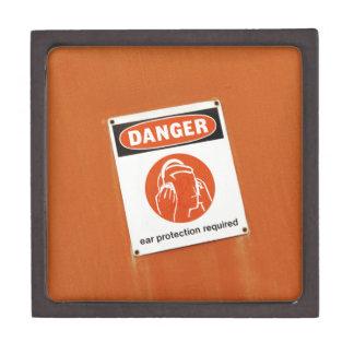 危険! 必要な防音保護具 ギフトボックス