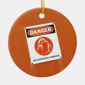 危険! 必要な防音保護具 セラミックオーナメント