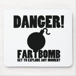 危険!  爆発するFartbomb マウスパッド