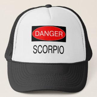 危険-蠍座のおもしろいな占星術のTシャツの帽子のマグ キャップ
