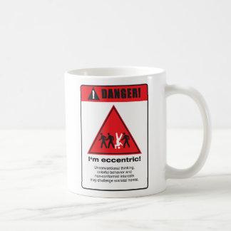 危険! 風変り コーヒーマグカップ