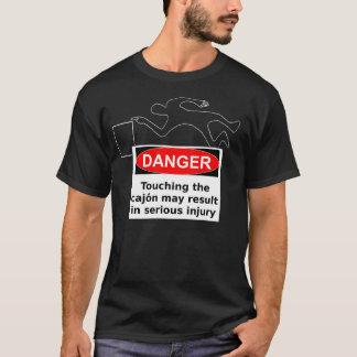 危険- Cajon! Tシャツ