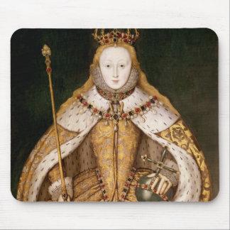 即位ローブのエリザベス女王一世 マウスパッド