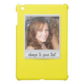 即刻の写真- photoframe -黄色の… iPad miniカバー