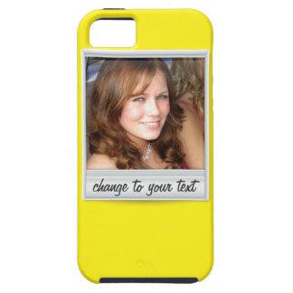 即刻の写真- photoframe -黄色の… iPhone 5 Case-Mate ケース