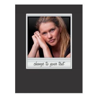 即刻の写真- photoframe -黒の… ポストカード