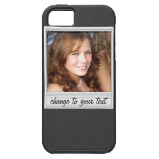 即刻の写真- photoframe -黒の… iPhone 5 case