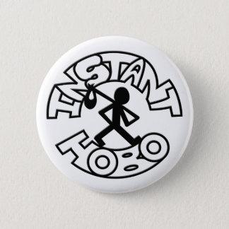即刻のHobo_Hobo Man_Logo_ 缶バッジ