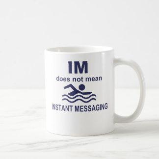 即刻 メッセージ 泳ぐ人 コーヒーマグ