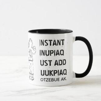 即刻INUPIAQJUSTはKUUKPIAQを加えます マグカップ
