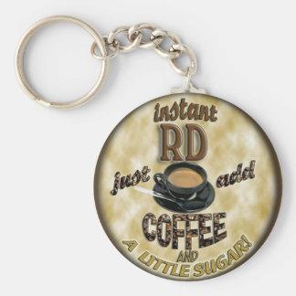 即刻RD -登録されていた栄養士-コーヒーを加えて下さい キーホルダー