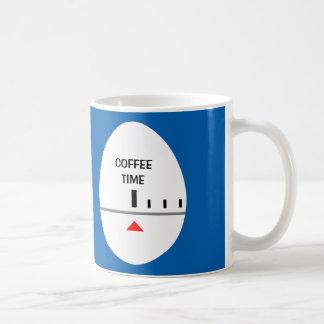 卵のタイマー-あなた自身のラベルを作成して下さい コーヒーマグカップ