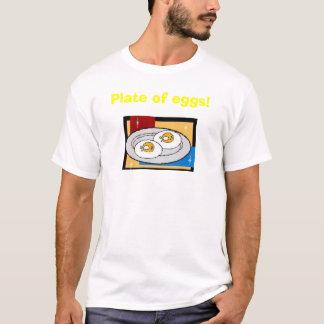 卵のプレートII Tシャツ