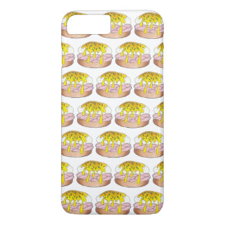 卵のベネディクトの朝食のダイナーの食糧グルメのハム iPhone 8 PLUS/7 PLUSケース