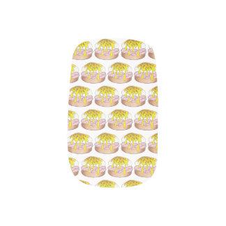 卵のベネディクトの朝食の台所食糧グルメのハム ネイルアート