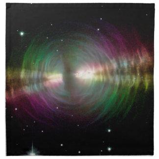 卵の星雲-宇宙、星、銀河系 ナプキンクロス