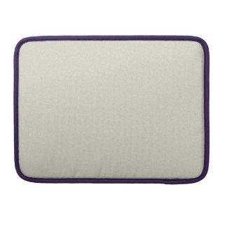 卵の殼の白いスターダスト MacBook PROスリーブ