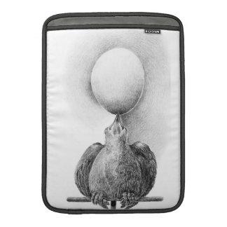 卵のParentingの人力車の袖 MacBook スリーブ
