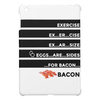 卵はベーコンのための側面です iPad MINIケース