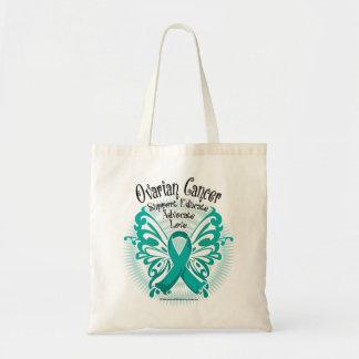 卵巣癌の蝶3 トートバッグ