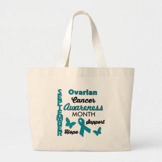 卵巣癌の認識度 ラージトートバッグ