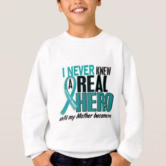卵巣癌は決して英雄2の母を知っていませんでした スウェットシャツ