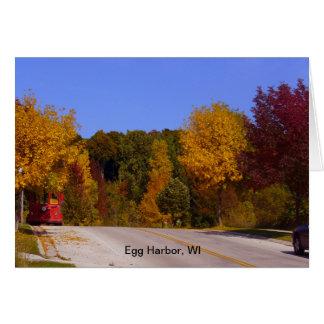 卵港、トロリー車とのWIの秋季 カード