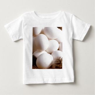 卵 ベビーTシャツ