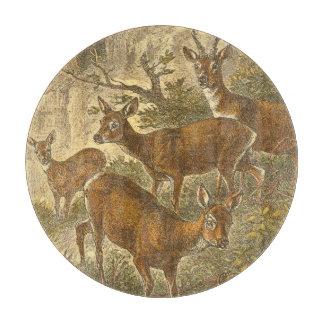 卵-森林のシカの系列 カッティングボード