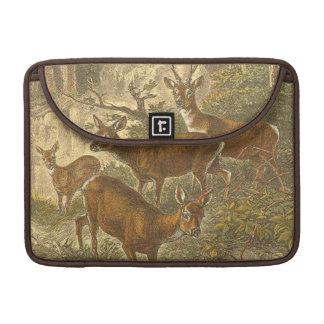 卵-森林のシカの系列 MacBook PROスリーブ