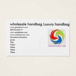 卸し売りハンドバッグの贅沢のハンドバッグ 名刺