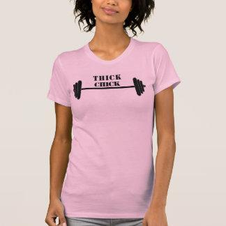厚いひよこ Tシャツ