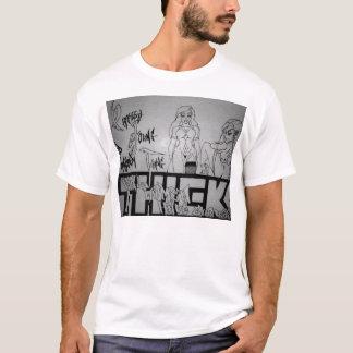 厚く2 Tシャツ