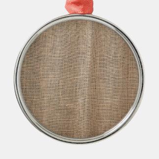 厚く、粗い糸とのバーラップの質 メタルオーナメント