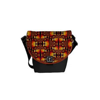 原住民風味を付けられた抽象的なパターン種族の2013年 メッセンジャーバッグ