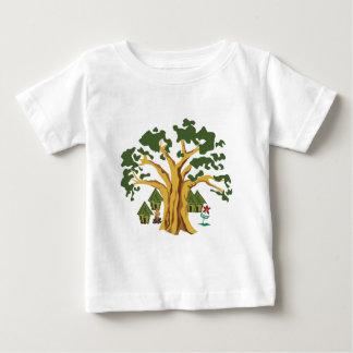 原住民 ベビーTシャツ