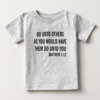 原則 ベビーTシャツ
