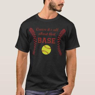 原因それは基礎ソフトボールのワイシャツについて完全にあります Tシャツ