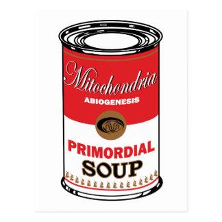 原始スープ ポストカード