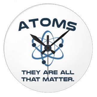 原子それらは重要であるすべてです ラージ壁時計